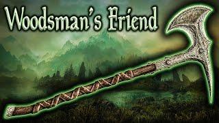 Skyrim SE - Woodsman's Friend - Unique Weapon Guide