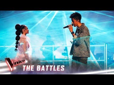 The Battles: Zeek v Lara 'Lovely'   The Voice Australia 2019