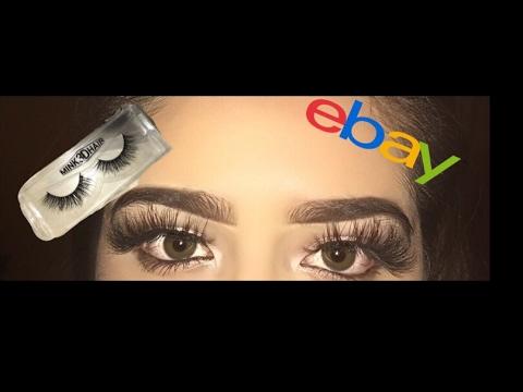 eBay eyelashes mink 3D hair