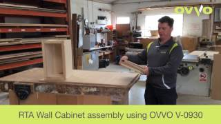RTA Cabinet Assembly using OVVO V-0930 Releasble