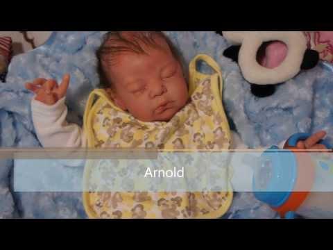 Puppen wie echt - Arnold - Anettes Reborn Baby