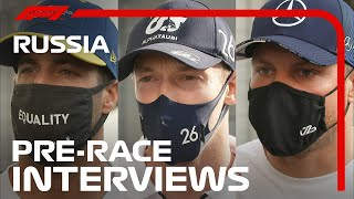 F1 Drivers Look Ahead To The 2020 Russian Grand Prix