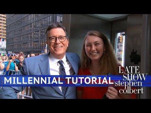 Download Stephen Colbert's Millennial Tutorial: Pay Phone Edition Mp4 HD Video and MP3