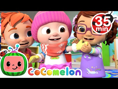 , title : 'If You're Happy and You Know It + More Nursery Rhymes & Kids Songs - CoComelon