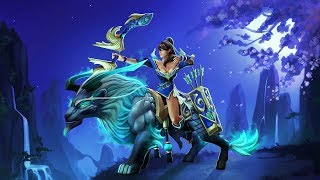 Dota 2 Mirana - Gifts of the Heavenly Guardian set preview