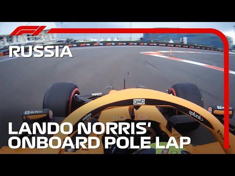 ランド・ノリスのオンボード映像 F1 第15戦ロシアGP(ソチ)予選
