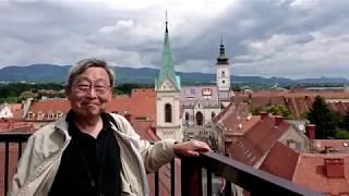 クロアチアの旅・ザグレブ旧市街を歩いてみた4K