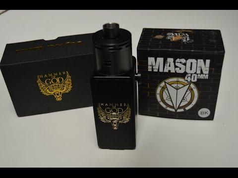 Hammer of God V2 with Mason 40mm RDA!!! Beast Setup!