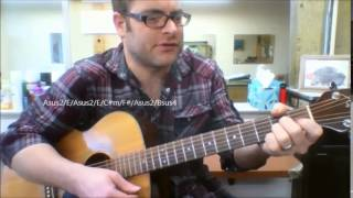 "How to play ""Easy Tonight"" by Five For Fighting on acoustic guitar"