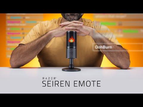 Razer 推出新桌上型麥克風Seiren Emote