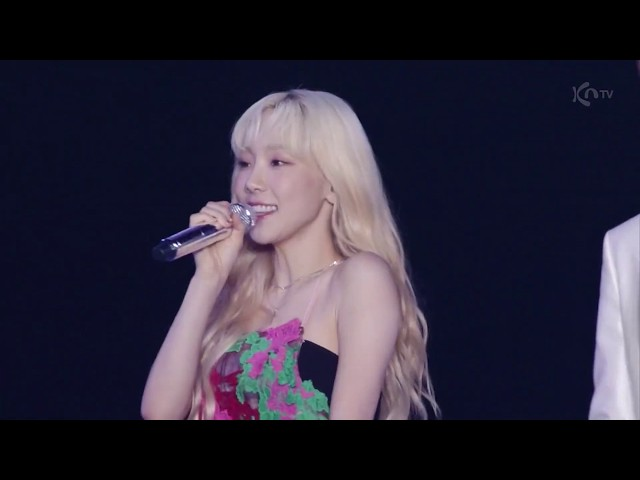 Taeyeon feat. Jaehyun - Starlight @ 190805 SMTOWN Tokyo