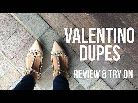 Valentino Dupes   Review + Try On