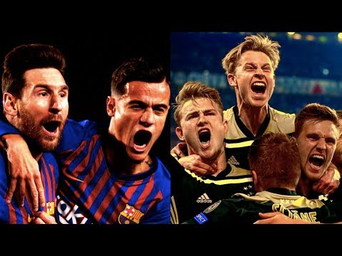 BARCELONA & AJAX CREATE A NIGHT OF EUROPEAN FOOTBALL MAGIC