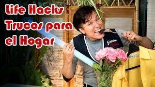 Trucos Para El Hogar O Lifehacks, Helado Yogurt, Perchas Antideslizantes Y Mas...