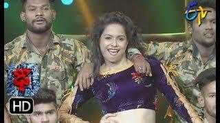 Tejashwini Performance   Dhee 10    13th June 2018   ETV Telugu