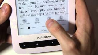 Pocketbook - Touch Lux 3 - Hands on & erste Eindrücke
