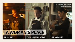 """A Woman's Place"" Official Trailer [A Vox Creative Production with KitchenAid] thumbnail"