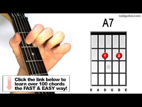 A7 - All Guitar Chords / Lesson Series