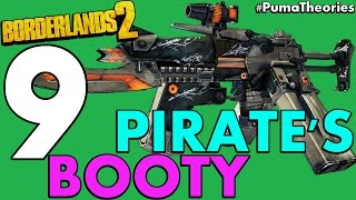 Top 9 Best Pirate's Booty DLC Guns and Weapons in Borderlands 2 #PumaCounts