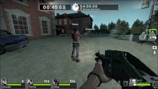 Two Friends Play: Left 4 Dead 2 Custom Survival Map: 28 Days Later