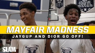 Josh Christopher & Dior Johnson GO CRAZY against ALUMNI at Mayfair MIDNIGHT MADNESS!!