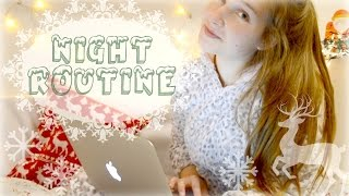 Night Routine For School : Winter Edition || Adela