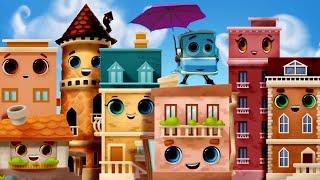 Домики - Все серии с 7 по 12 серии - Мультики для детей