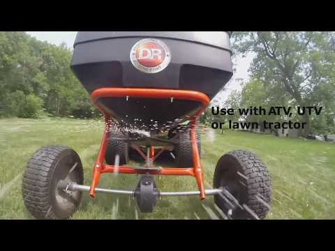 Product Video, DR 175lb Tow Behind Spreader