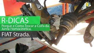 Substituindo A Coifa Da Junta Homocinética Do Fiat Strada