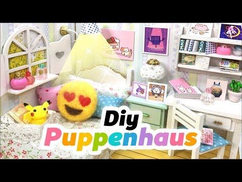 DIY Puppenhaus 😍 Emoji Polster Basteln 💕 Dekoration! Spielzeug einfach selber machen! Deutsch