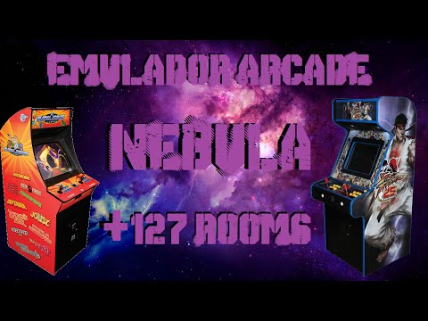 Descargar Emulador Arcade NEBULA + 127 Rooms!!