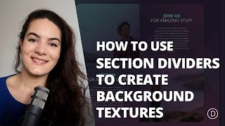 How to Create Background Textures with Divi's Section Dividers | Kholo.pk