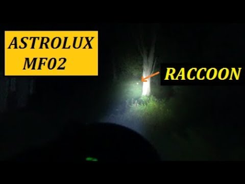 Astrolux MF02 Flashlight Review – 3000LM Throw Beast