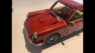 The Block Zone Porsche 1964 911 2.0 Coupe 1708 pcs Rebrickable MOC 26888