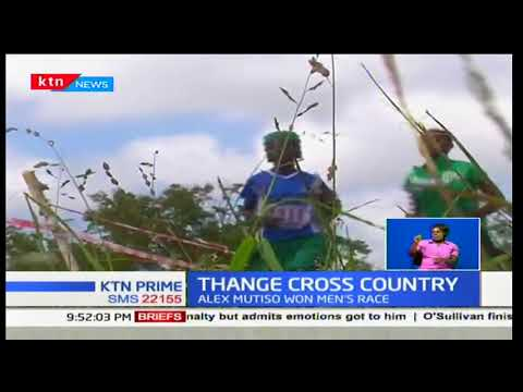 Alex Mutiso takes win in the Thange Cross Country race