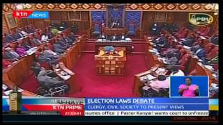 Election Laws: Senate holds special sitting