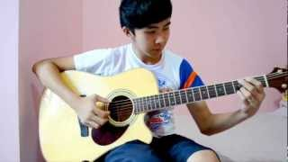 (WITH TABS!!) The Bangles - Eternal Flame (Fingerstyle cover by Jorell).wmv