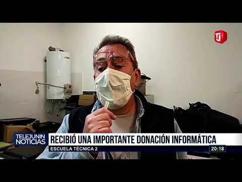 IMPORTANTE DONACIÓN A LA ESCUELA TÉCNICA DOS
