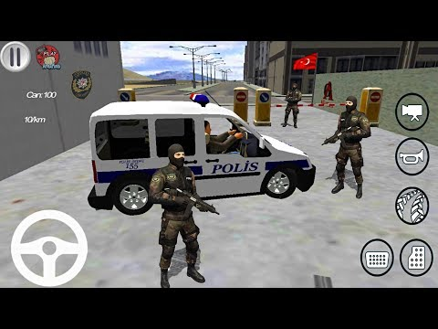 FORD Connect TÜRK Polis Arabası Oyunu - Polis Oyunu // Polis Simulator Android Oyunu FHD