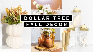 DOLLAR TREE DIY FALL DECOR 2020 | *NEW* DECORATING IDEAS FOR AUTUMN!