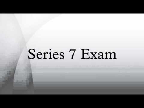 Series 7 Exam - YouTube