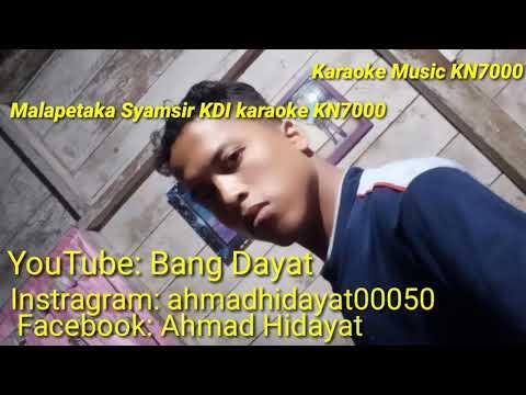 Malapetaka Syamsir KDI Tapsel karaoke KN7000