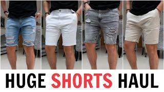 HUGE Mens Shorts Haul & Try-On (Denim, Cargo + Chino Shorts)