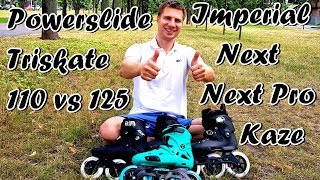 Powerslide Next Megacruiser 125 Pro відео огляд роликів