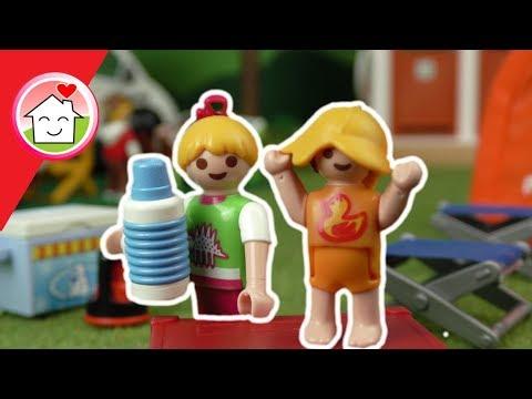 Playmobil Film deutsch - Camping mit Familie Hauser - Playmobil Campingplatz - Family Stories