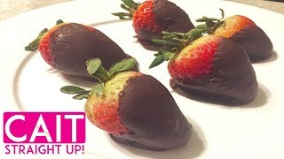 can i make chocolate covered strawberries ahead of time