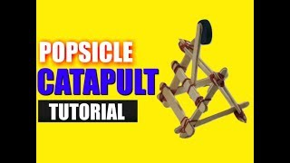 Diy Catapult With Popsicle Sticks | Popsicle Sticks | Wooden Catapolt | Million Dollar Crafts