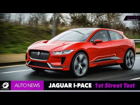 Jaguar I-PACE | FIRST Car DRIVING In The STREETS