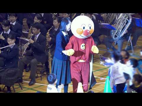 ♪ キッズ・メドレー ♪ 大阪桐蔭高校吹奏楽部 in 中津小学校