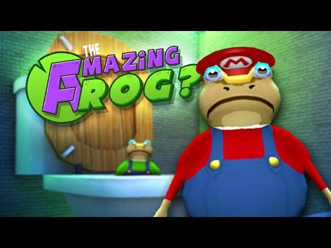 MARIO & LUIGI vs GIANT TOILET - Let's Play Amazing Frog Gameplay - GIANT SHARKS & JETSKIS